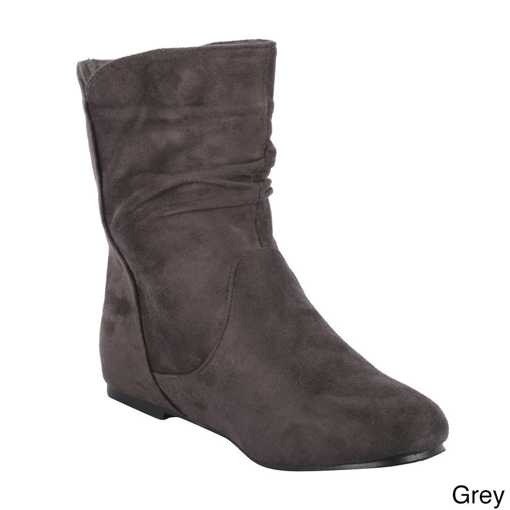 5ed0012fd5 Shop Radiant Women's 'Tasteful' Pull-on Ankle Boots - Free Shipping On  Orders Over $45 - Overstock - 8684621