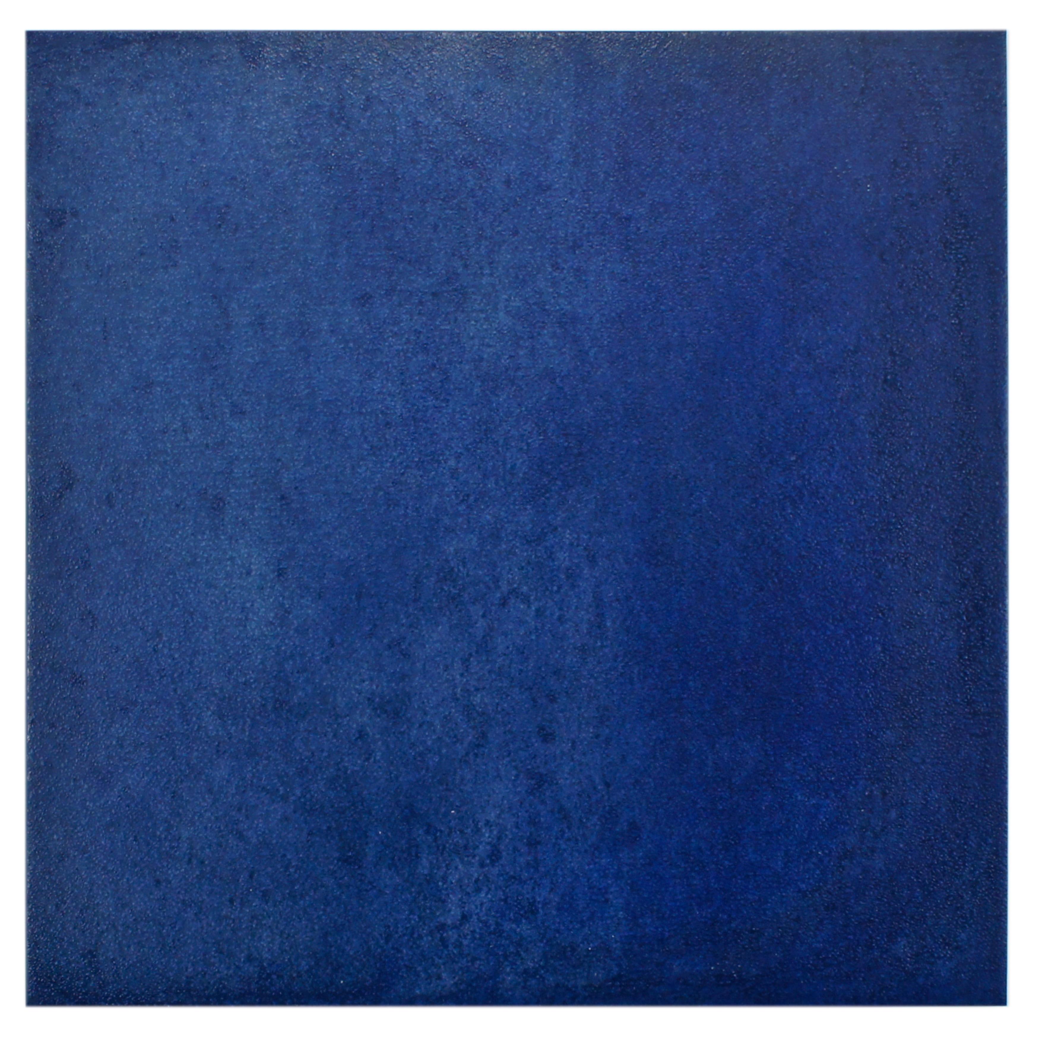 SomerTile 14.125x14.125-inch Symbol Blau Porcelain Floor and Wall ...