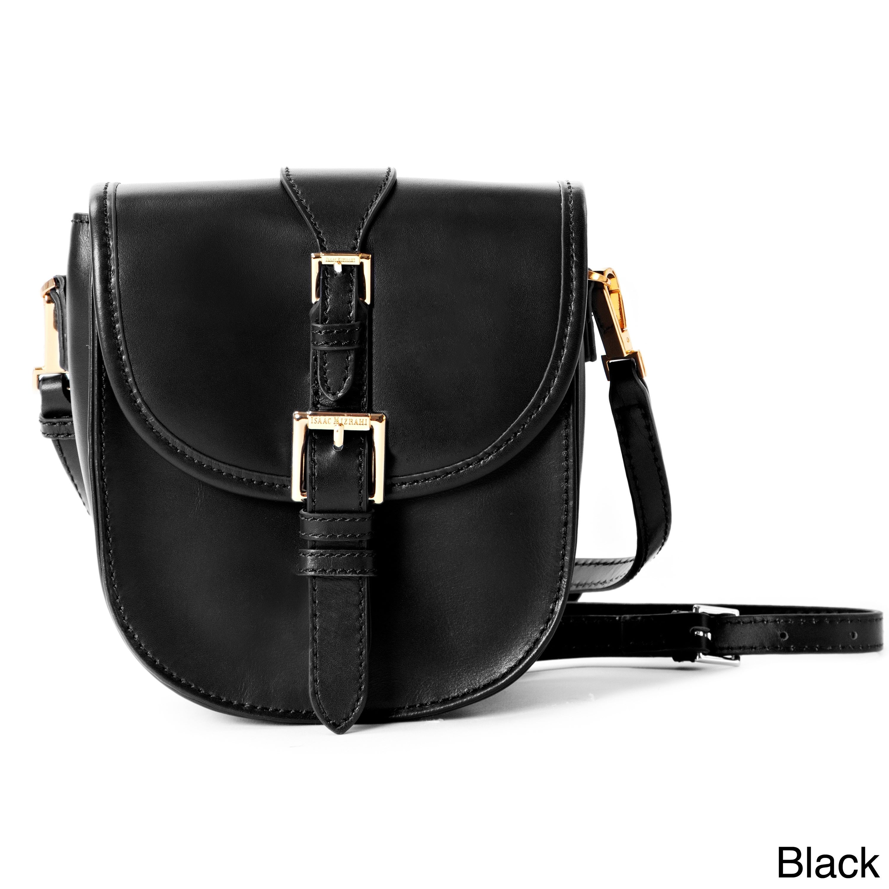 Isaac Mizrahi Jane Genuine Leather Crossbody Camera And Tech Bag On Free Shipping Today 8687676