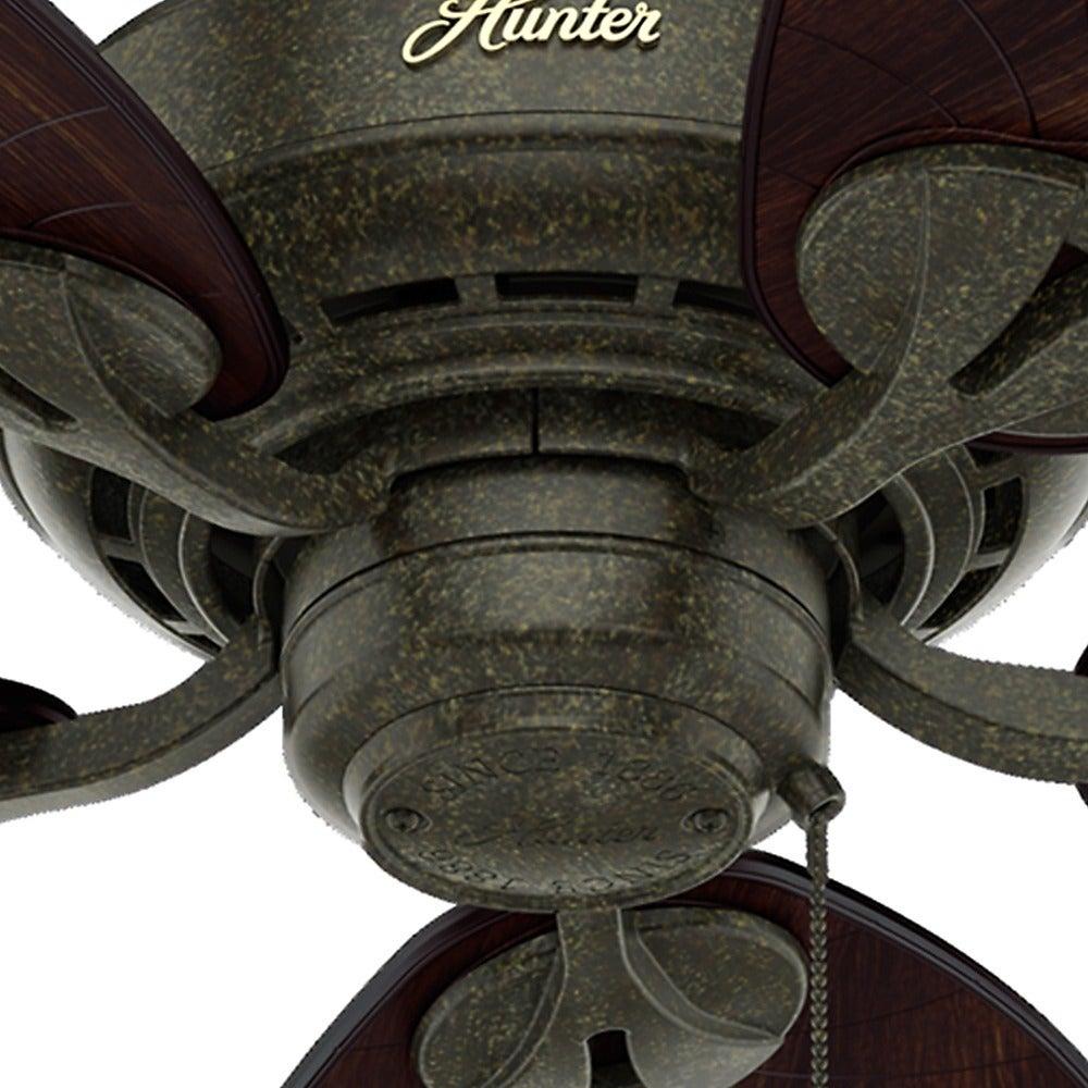 leaf ceiling fan. Hunter Leaf Ceiling Fan F