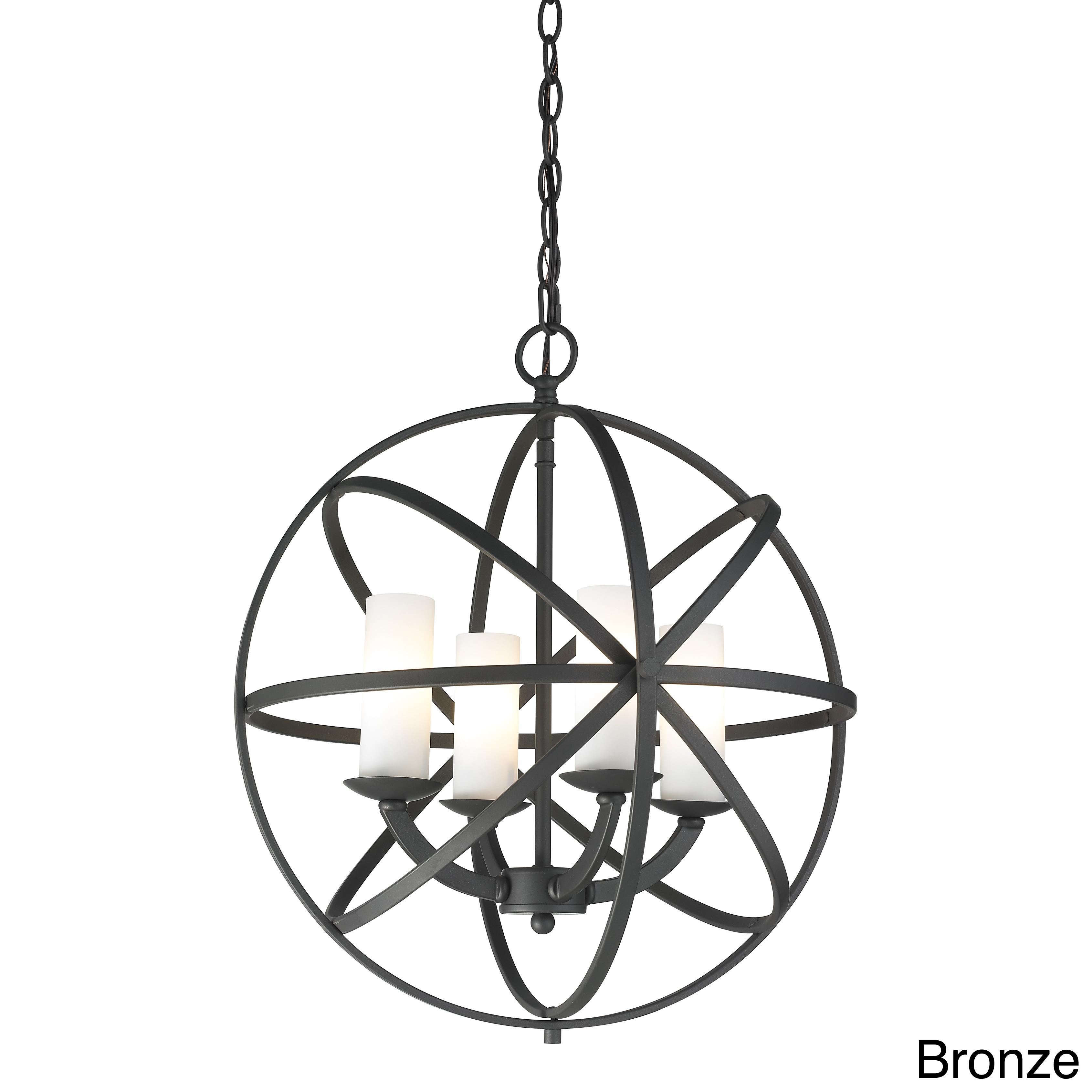 Aranya 4 Light Orbit Pendant