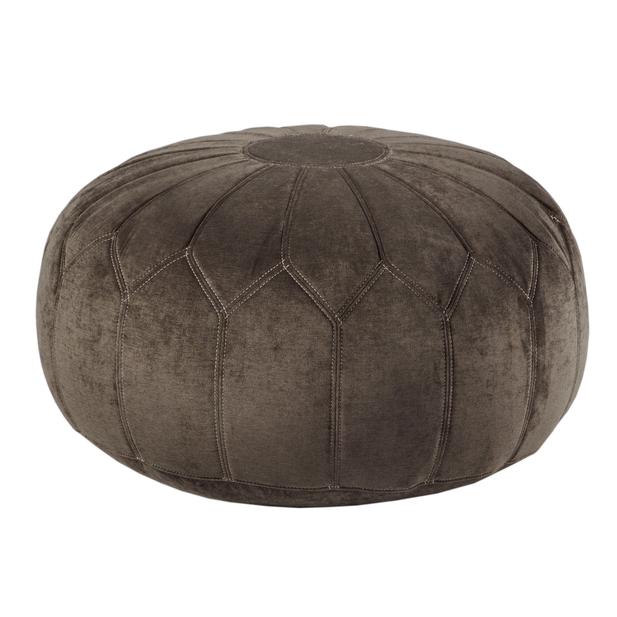 tan stunning beni pouf morocco ottoman round poof product ourain shop diameter carpet leather