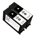 Lexmark Compatible Ink Cartridge Replacement for Lexmark 100 (2 Black)