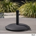 Black Umbrella Base by Christopher Knight Home