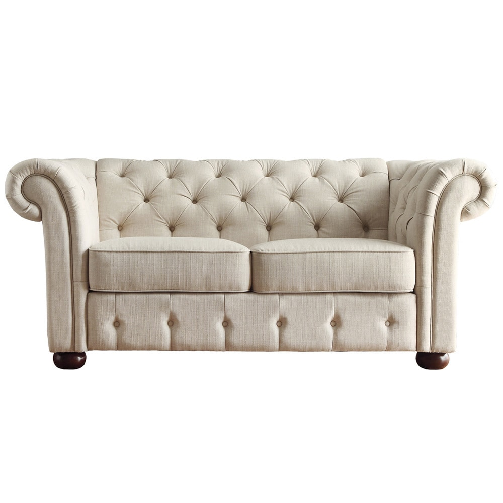 watch grey natalia sofa loveseat youtube tufted
