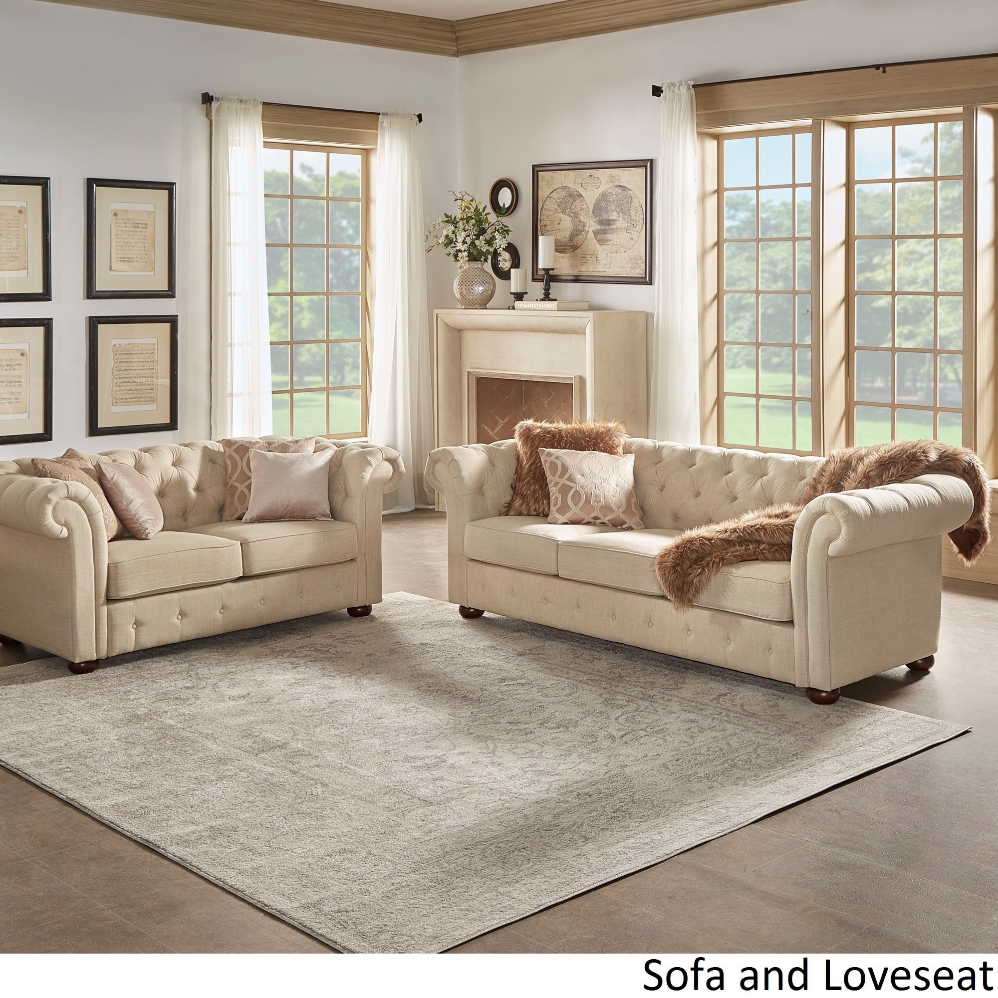 sofa loveseat chair set Design Decoration
