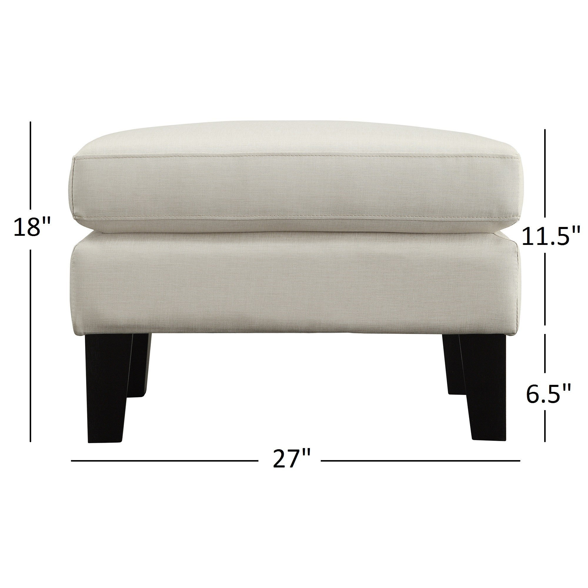 Uptown Modern Ottoman by iNSPIRE Q Classic - Free Shipping Today -  Overstock.com - 16009226