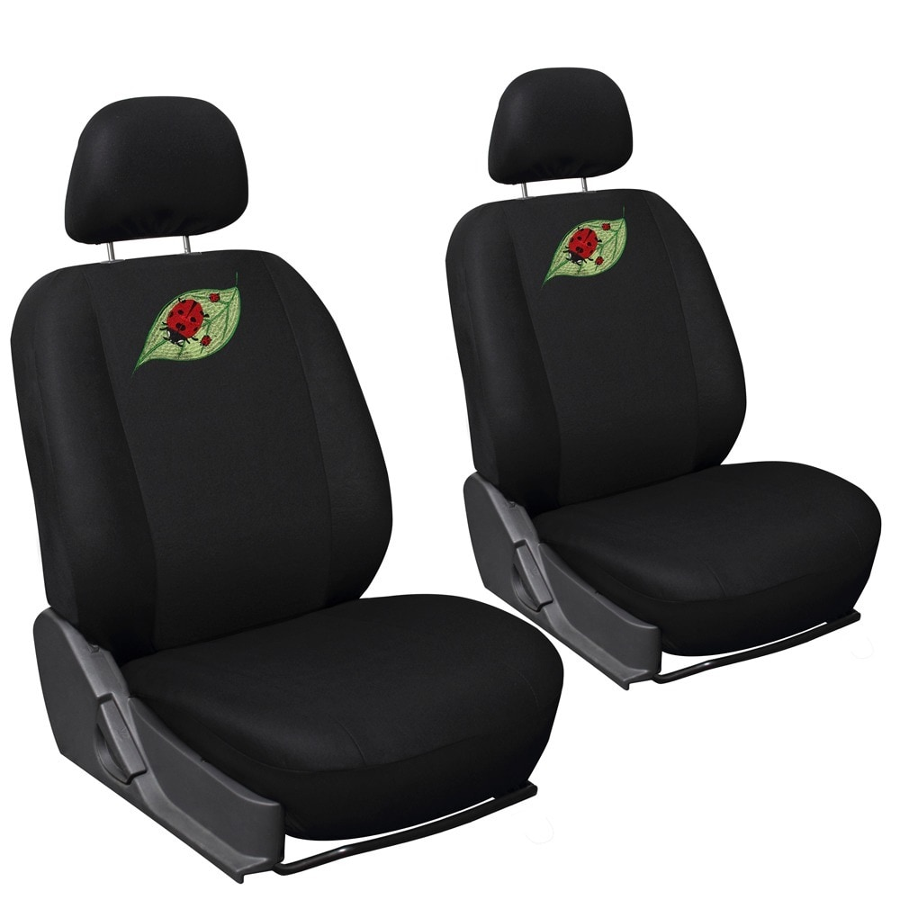 Oxgord Cute Lady Bug 17 Piece Car Seat Covers Set With Steering Wheel Cover Free Shipping Today 8768185