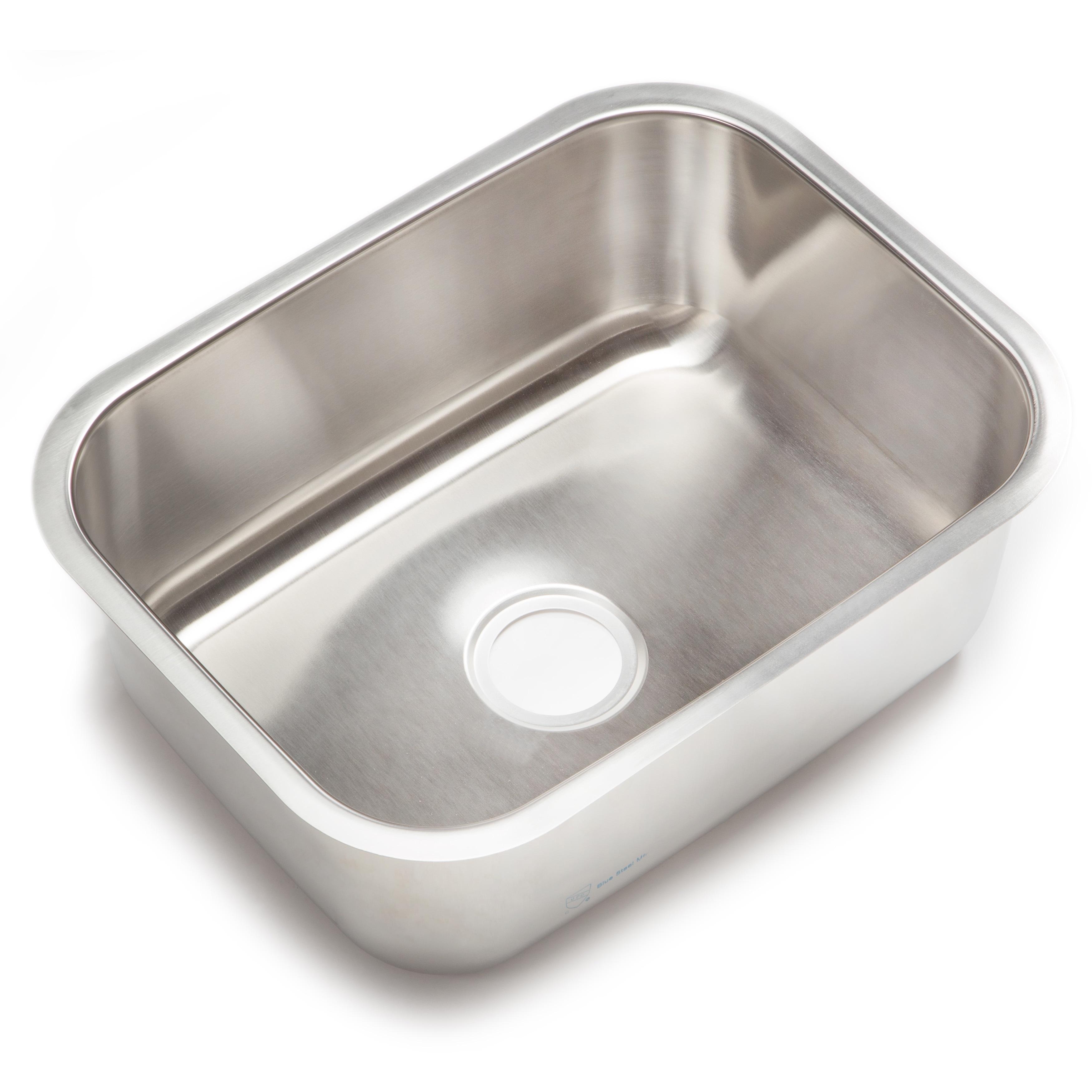 Shop Clark Stainless Steel Large Single-bowl Undermount Kitchen Sink ...