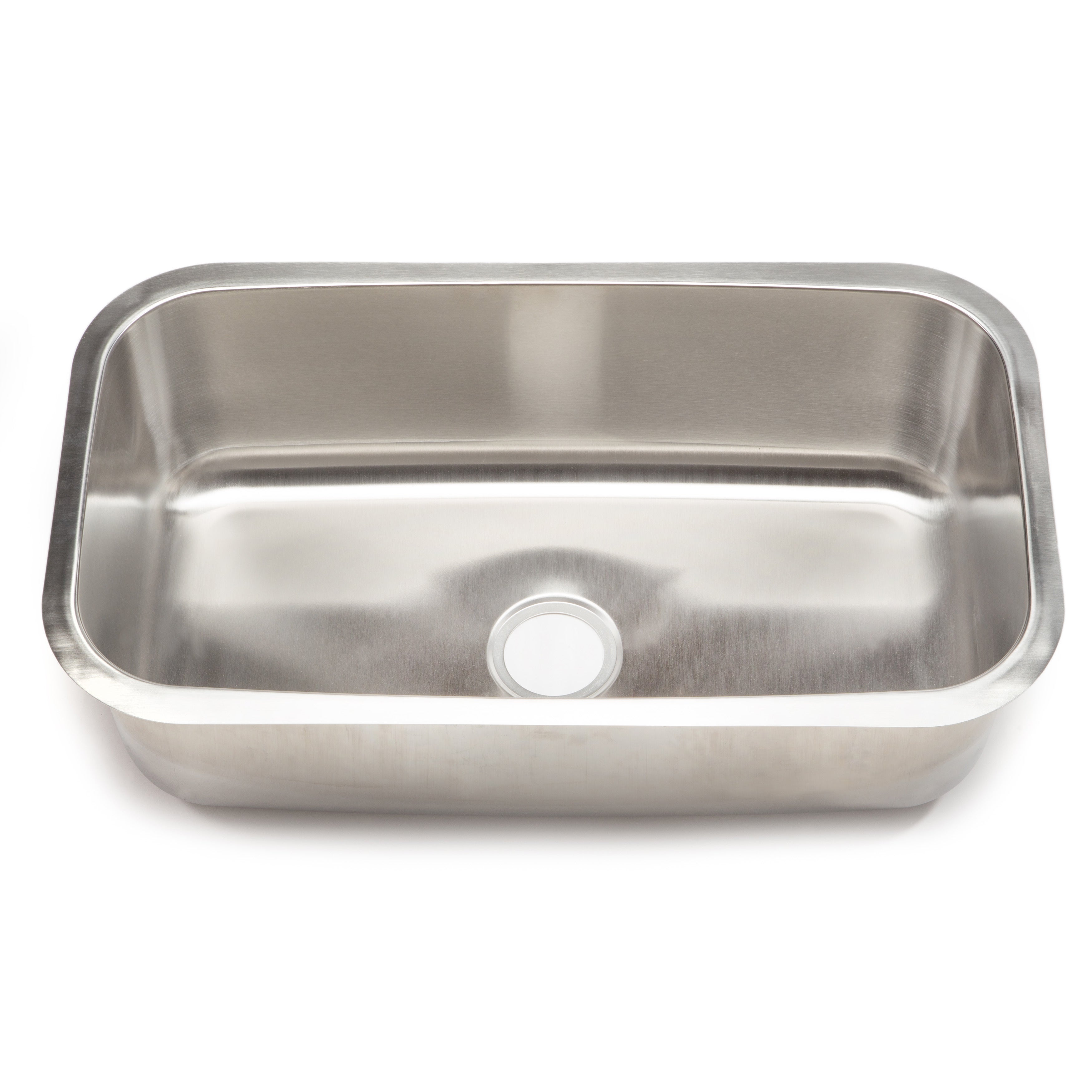 Clark Stainless Steel Extra Large Single-bowl Undermount Kitchen ...