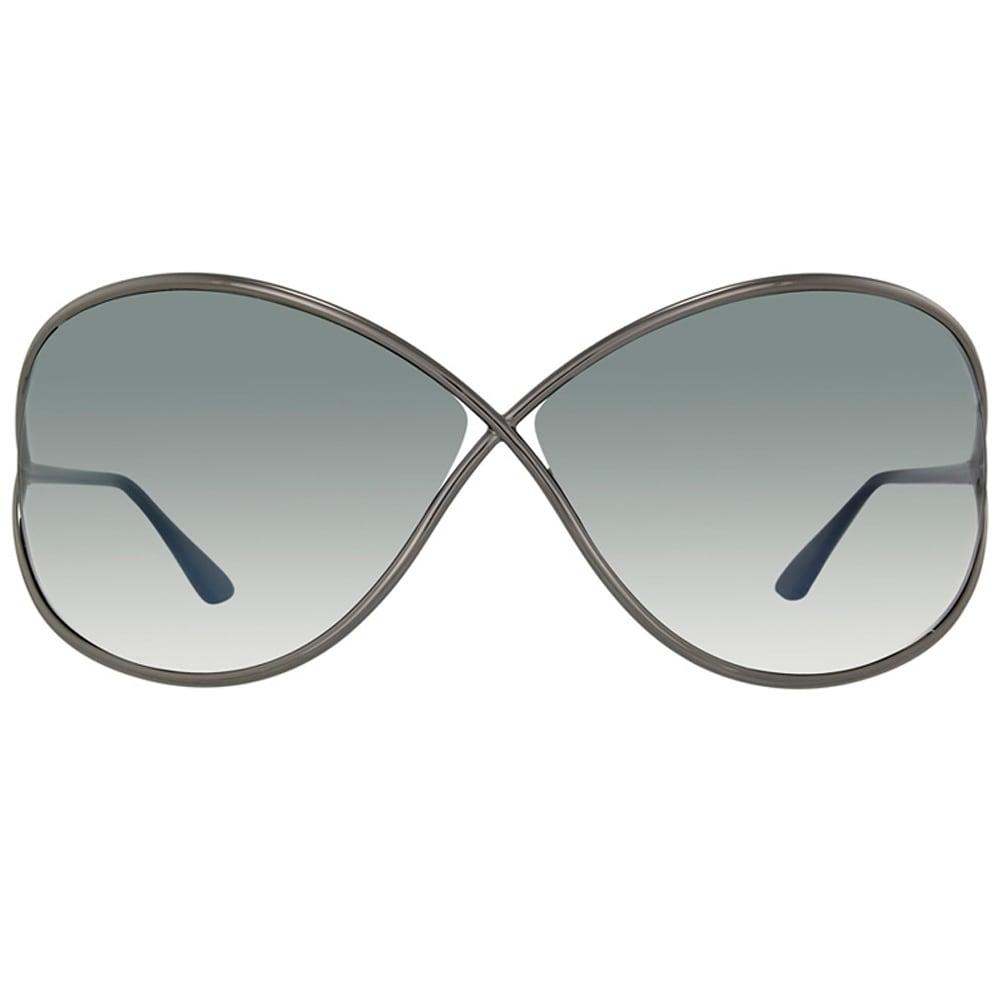 da2c04c7b0 Shop Tom Ford Womens  TF130 Miranda 08B  Shiny Gunmetal Sunglasses - Free  Shipping Today - Overstock - 8771397