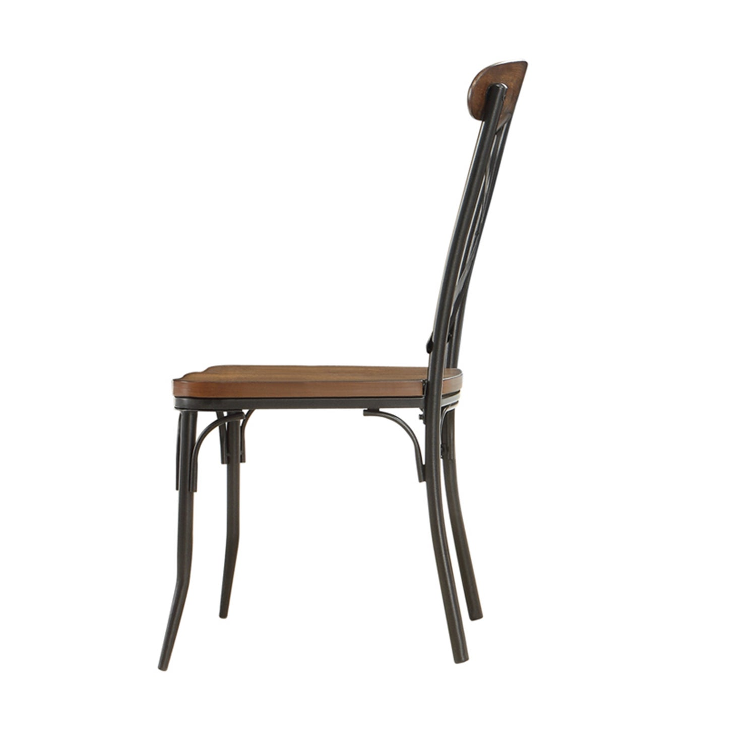 Shop Nelson Industrial Modern Rustic Cross Back Dining Chair By INSPIRE Q Classic Set Of 2