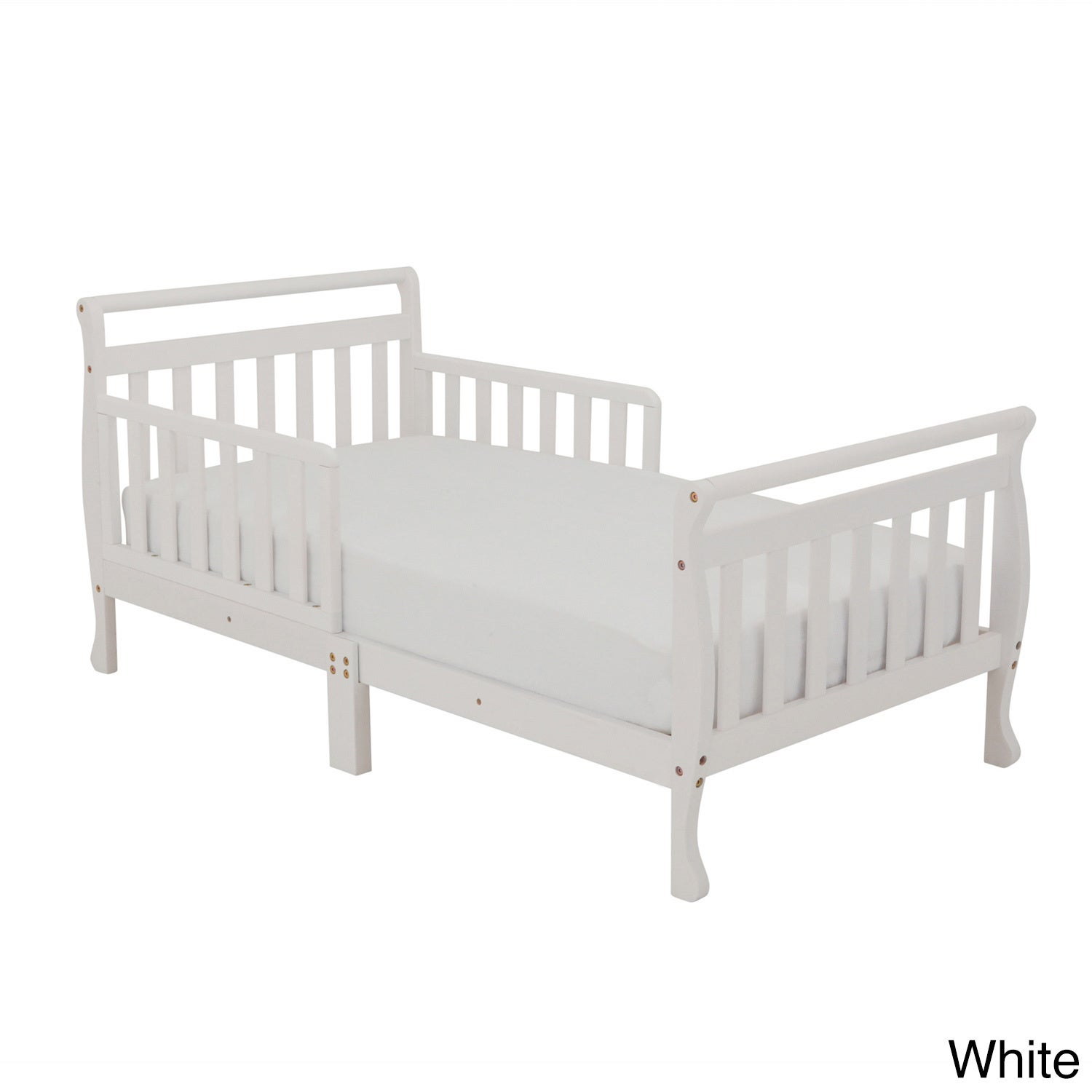 Mikaila Nerida Wood Toddler Sleigh Bed