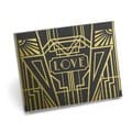 Hortense B. Hewitt Art Deco Black/ Gold Guest Book