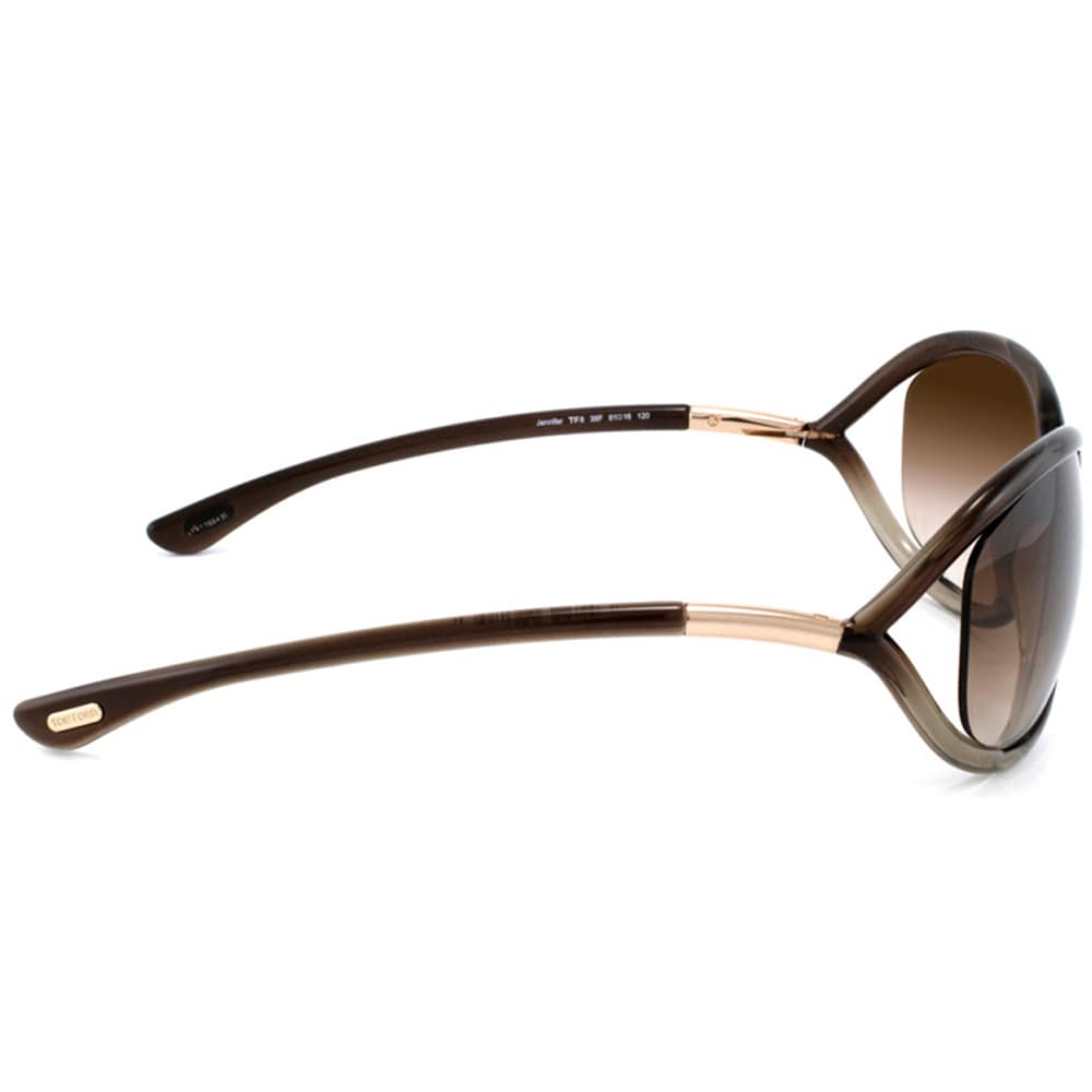 8e88570dc5af9 Shop Tom Ford Women s  TF008 Jennifer 38F  Brown Gradient Plastic Fashion  Sunglasses - Free Shipping Today - Overstock - 8793827