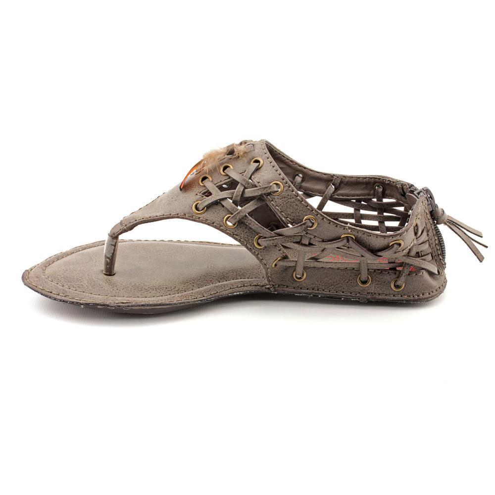 a09585890b4 Shop Big Buddha Women s  Peek  Synthetic Sandals (Size 6 ) - Free Shipping  On Orders Over  45 - Overstock - 8804278