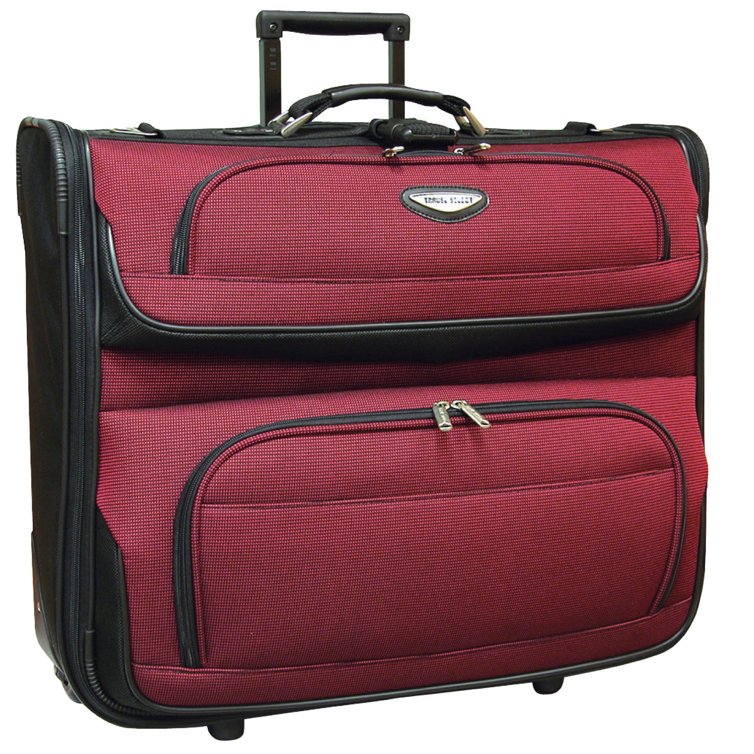 0054de29fc20 Shop Travel Select by Traveler s Choice Amsterdam 23-Inch Rolling Garment  Bag - Free Shipping Today - Overstock - 880735