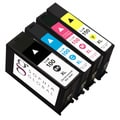 Sophia Global Lexmark 100XL 4-piece Compatible Ink Cartridge Replacement Set (1 Black, 1 Cyan, 1 Magenta, 1 Yellow)