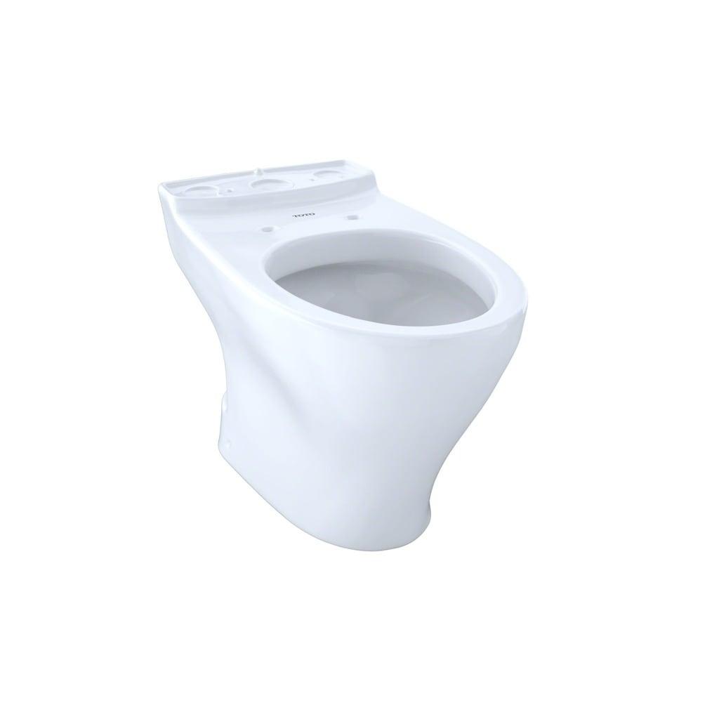 Shop Toto Aquia II Cotton White Elongated Toilet Bowl - Free ...