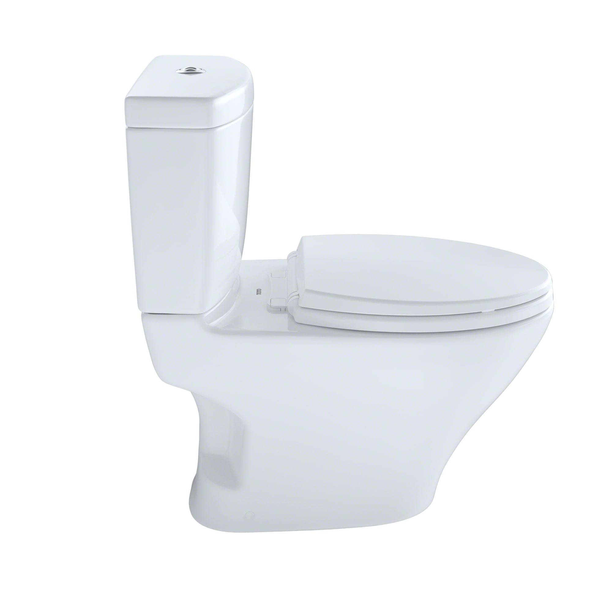 Toto CST416M01 Aquia 2 Piece Cotton White Double Flush Toilet