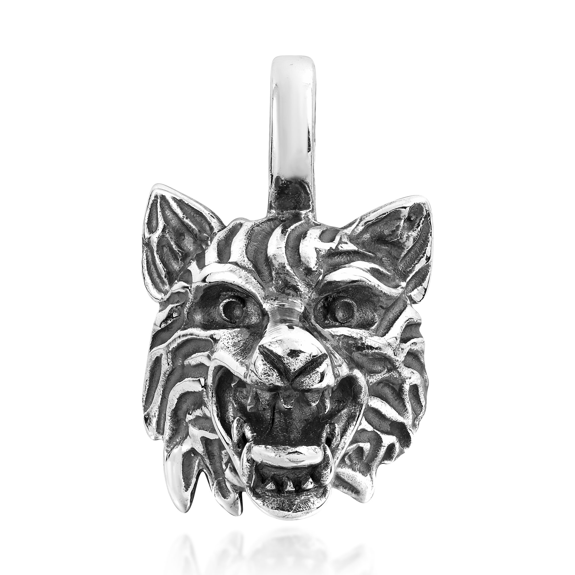 long pyrite elements gallery alexis normal bittar fox head pendant lyst jewelry necklace silver crystal wolf product phoenix dark