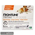 Frontline Tritak Flea/ Tick Treatment for Dogs (3 Month Supply)