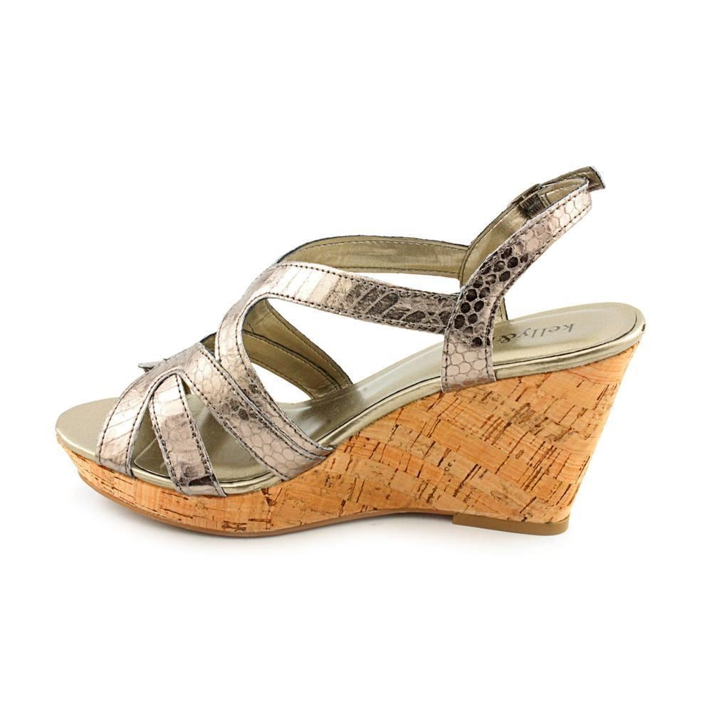 ecfe3d07367b Shop Kelly   Katie Women s  Cara  Leather Sandals - Wide - Free Shipping  Today - Overstock - 8835280