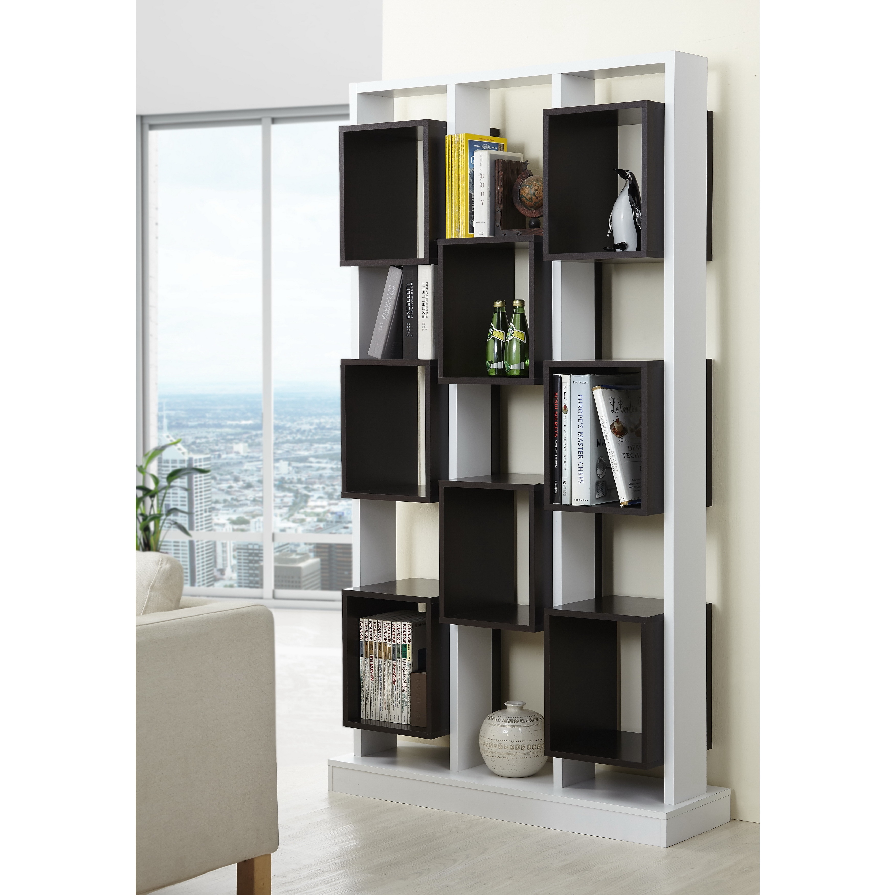 bookcases products beige catalog tower bookcase en glass doors ca ikea with billy