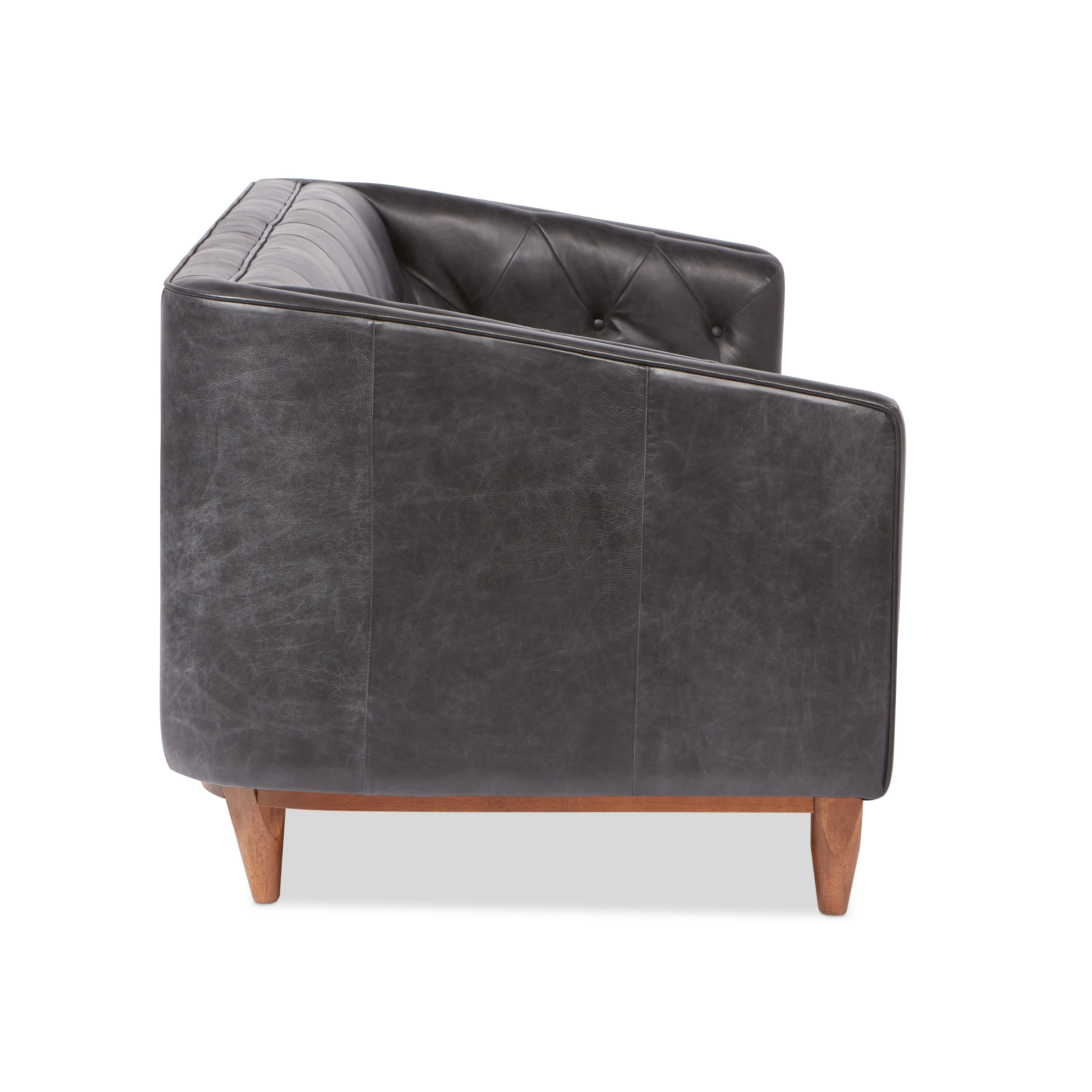 style vintage c tufted leather chesterfieldstyle sofa settees chesterfield products chair sofas