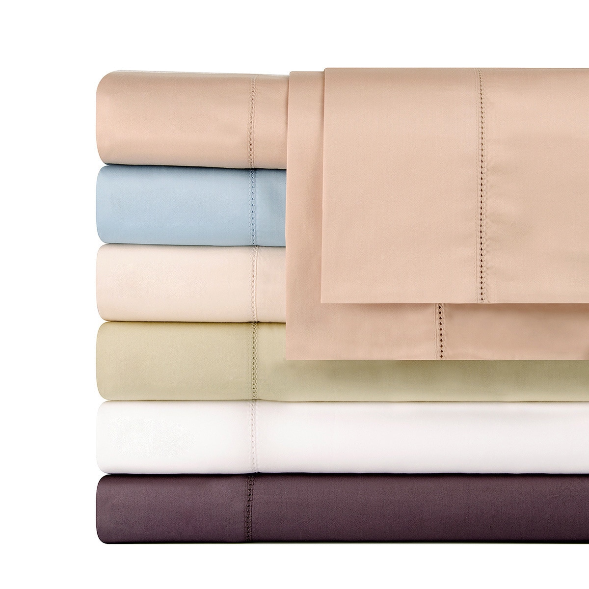 Shop Celeste Home Pima Cotton Deep Pocket Sateen 610 Thread Count Sheet Set    On Sale   Free Shipping On Orders Over $45   Overstock.com   8843318