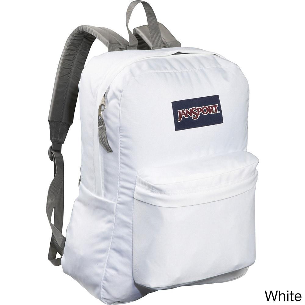 9f29468144d Jansport Big Student Backpack Black White Free Spirit | Sabis ...