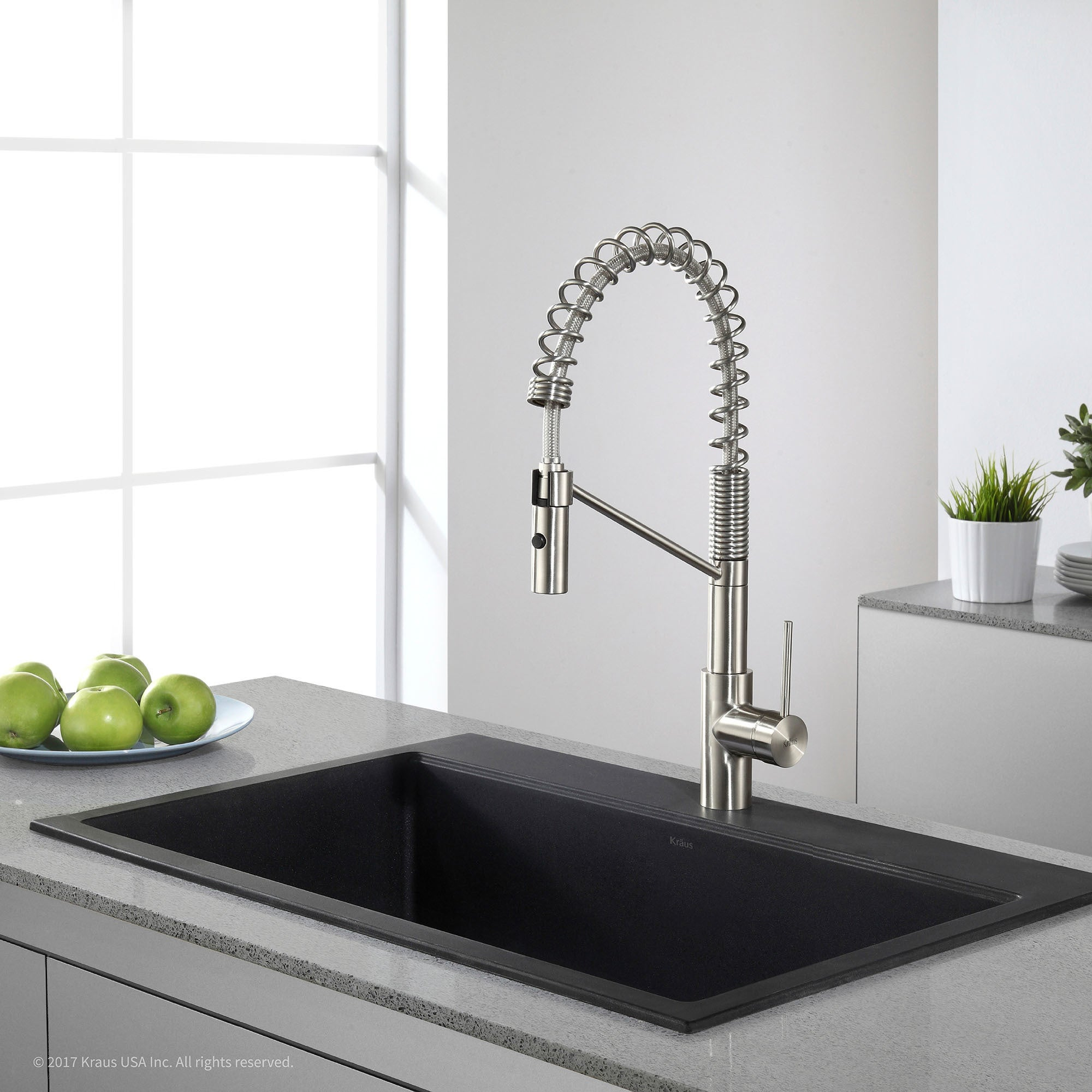 Shop Kraus KGD 412B Undermount Drop In Dual Mount 31 Inch Single Bowl  Granite Kitchen Sink In Black Onyx   Free Shipping Today   Overstock.com    8844064