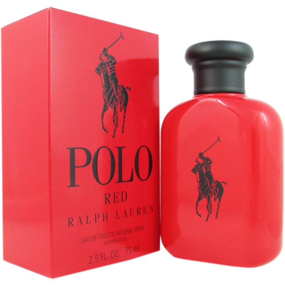 Shop Ralph Lauren Polo Red Men s 2.5-ounce Eau de Toilette Spray - Free  Shipping Today - Overstock - 8844082 d11dbcc1fc0ca