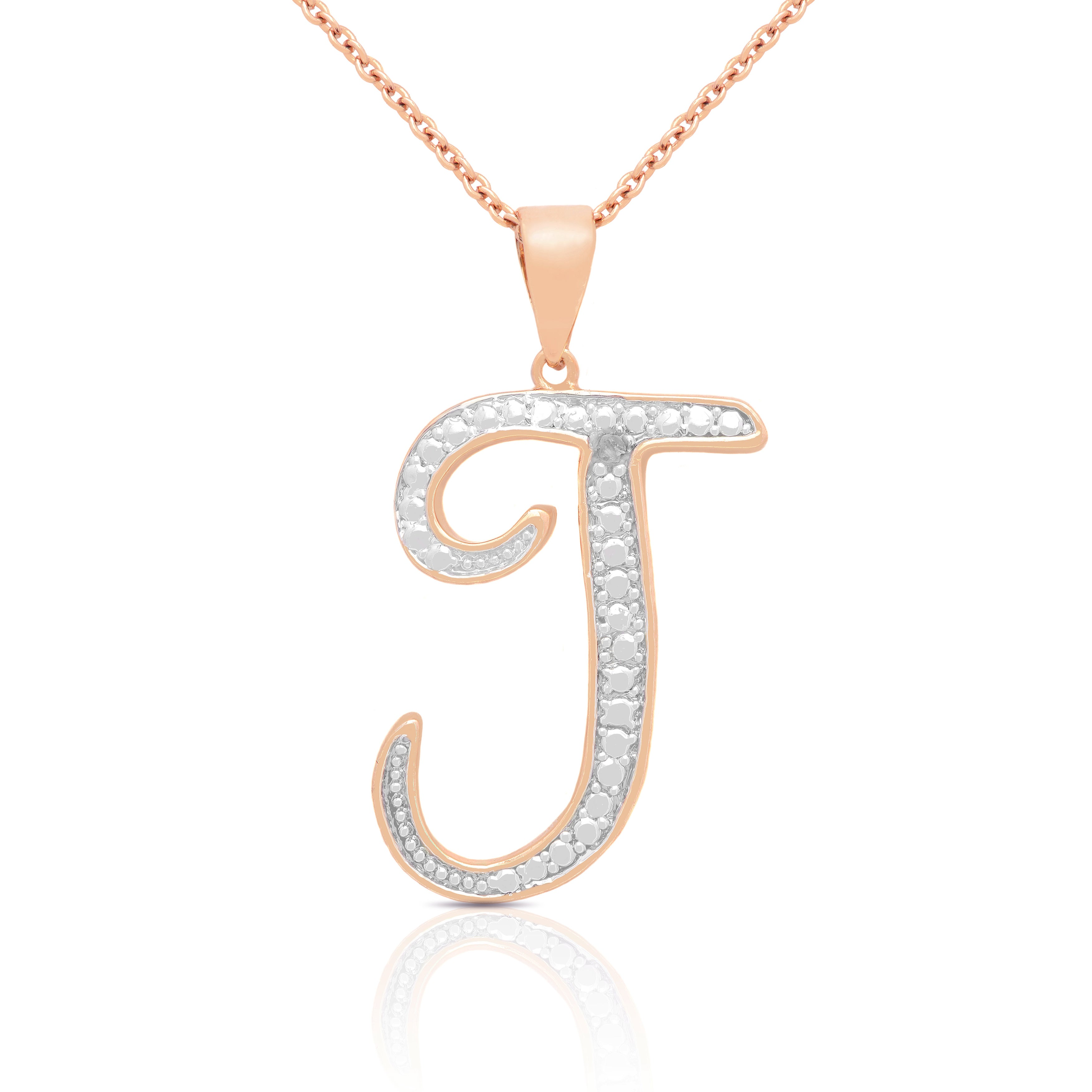 Shop 14k gold overlay diamond accent initial pendant necklace free shop 14k gold overlay diamond accent initial pendant necklace free shipping on orders over 45 overstock 8847029 aloadofball Choice Image
