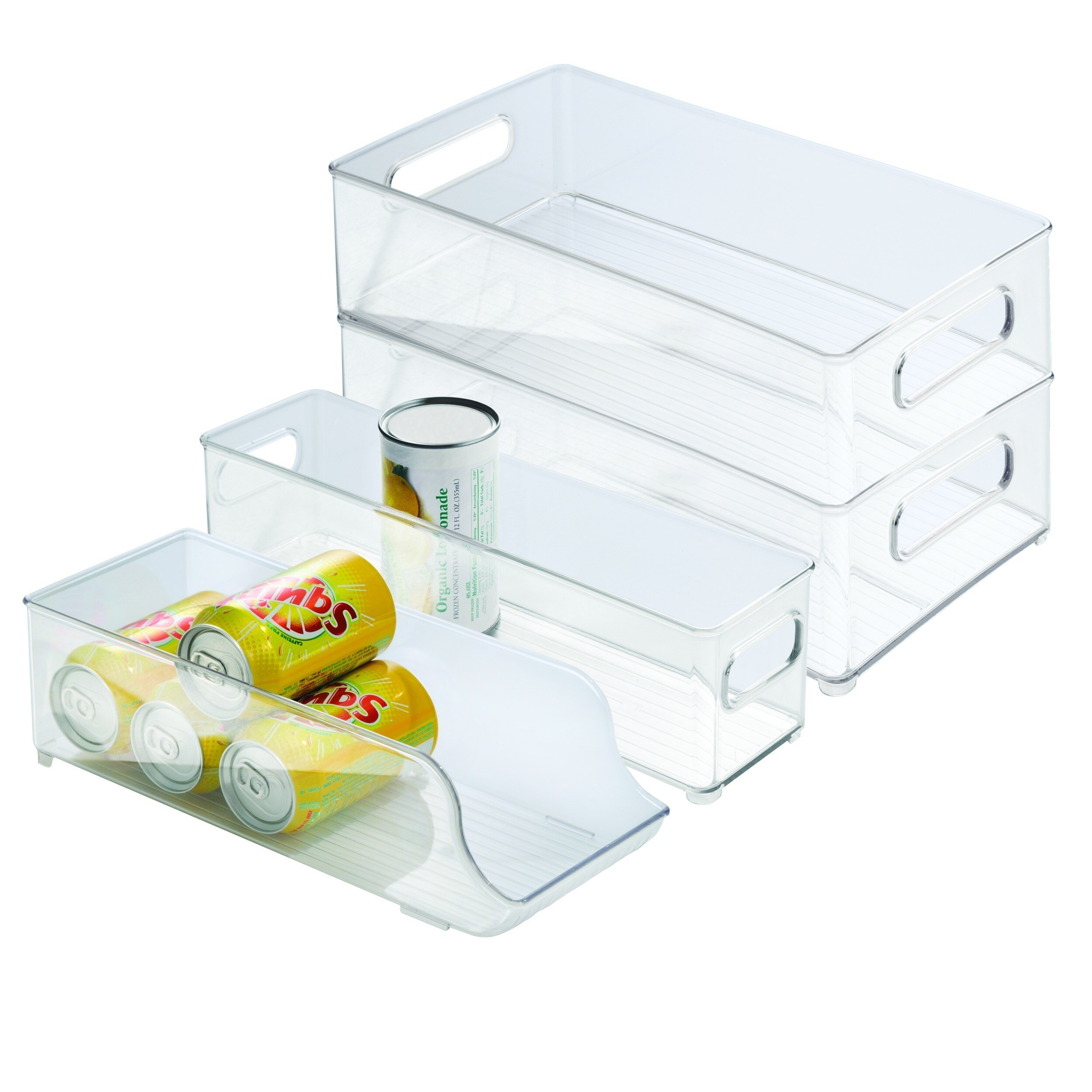 Shop Interdesign 4 piece Fridge and Freezer Storage Bins Free