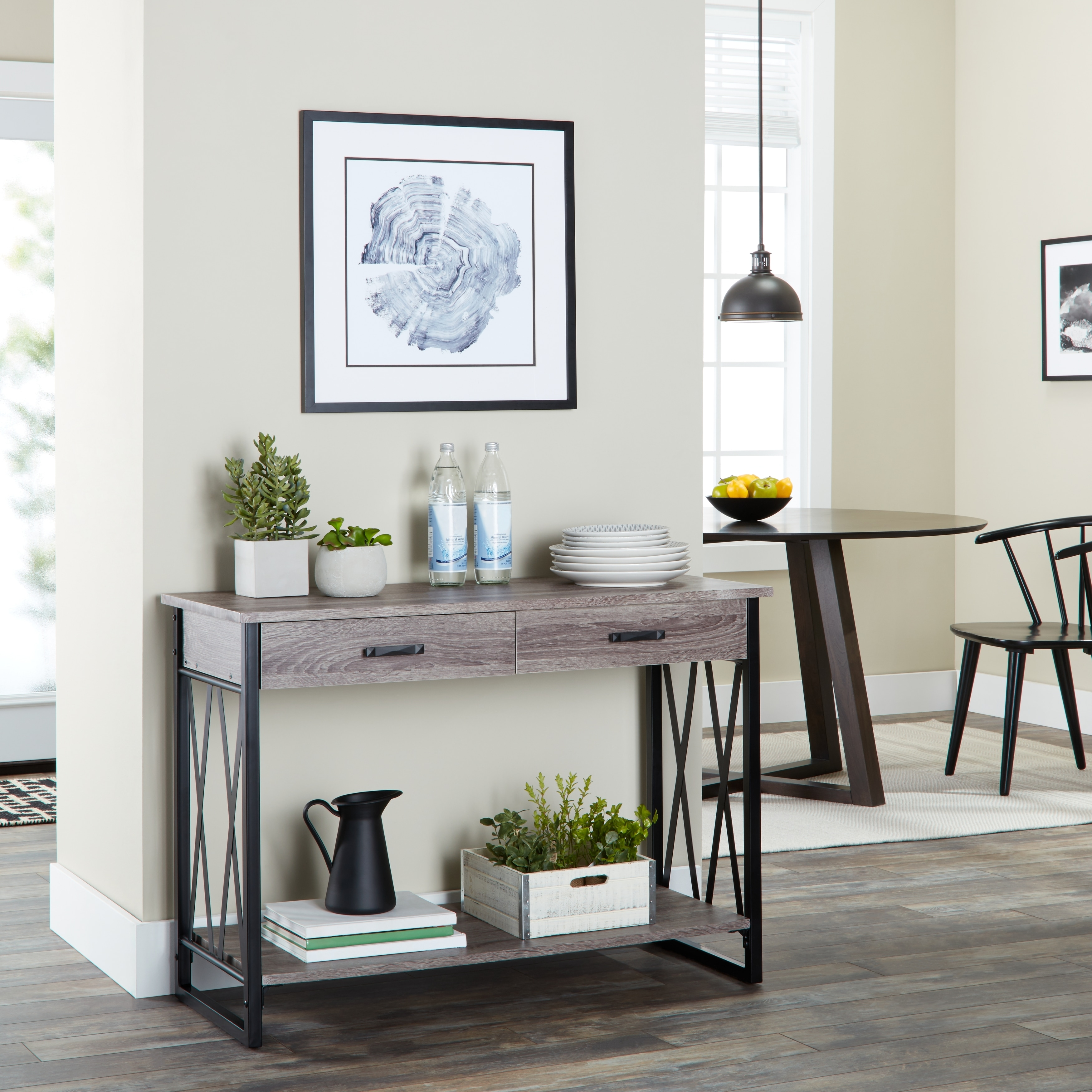Seneca Reclaimed Finish Sofa Table   N/A   Free Shipping Today    Overstock.com   16076521