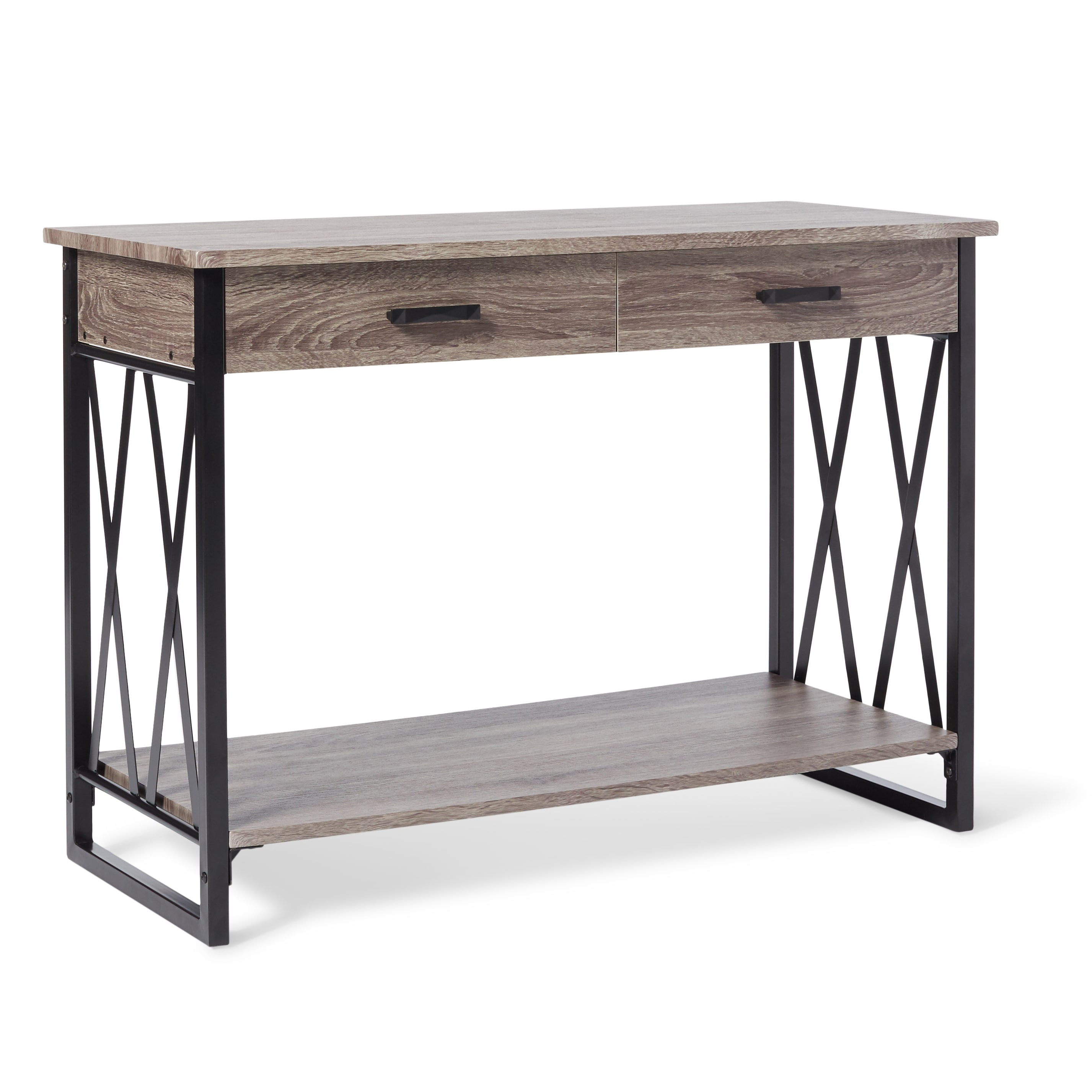 Seneca Möbel seneca reclaimed finish sofa table free shipping today overstock