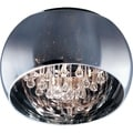 Maxim Sense 5-light Chrome Flush Mount