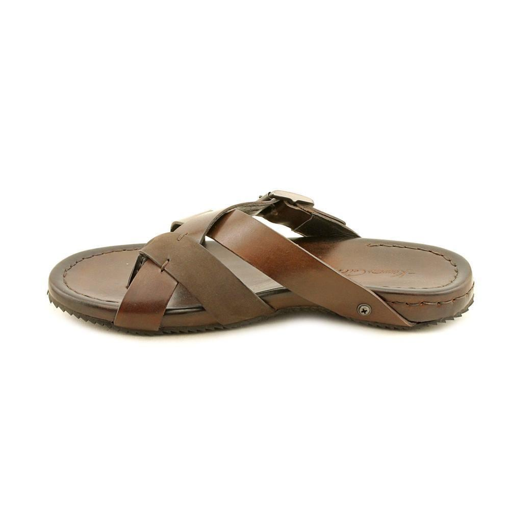19a1b3748d7 Shop Kenneth Cole NY Men s  Sail Breeze  Leather Sandals - Free Shipping  Today - Overstock - 8857707