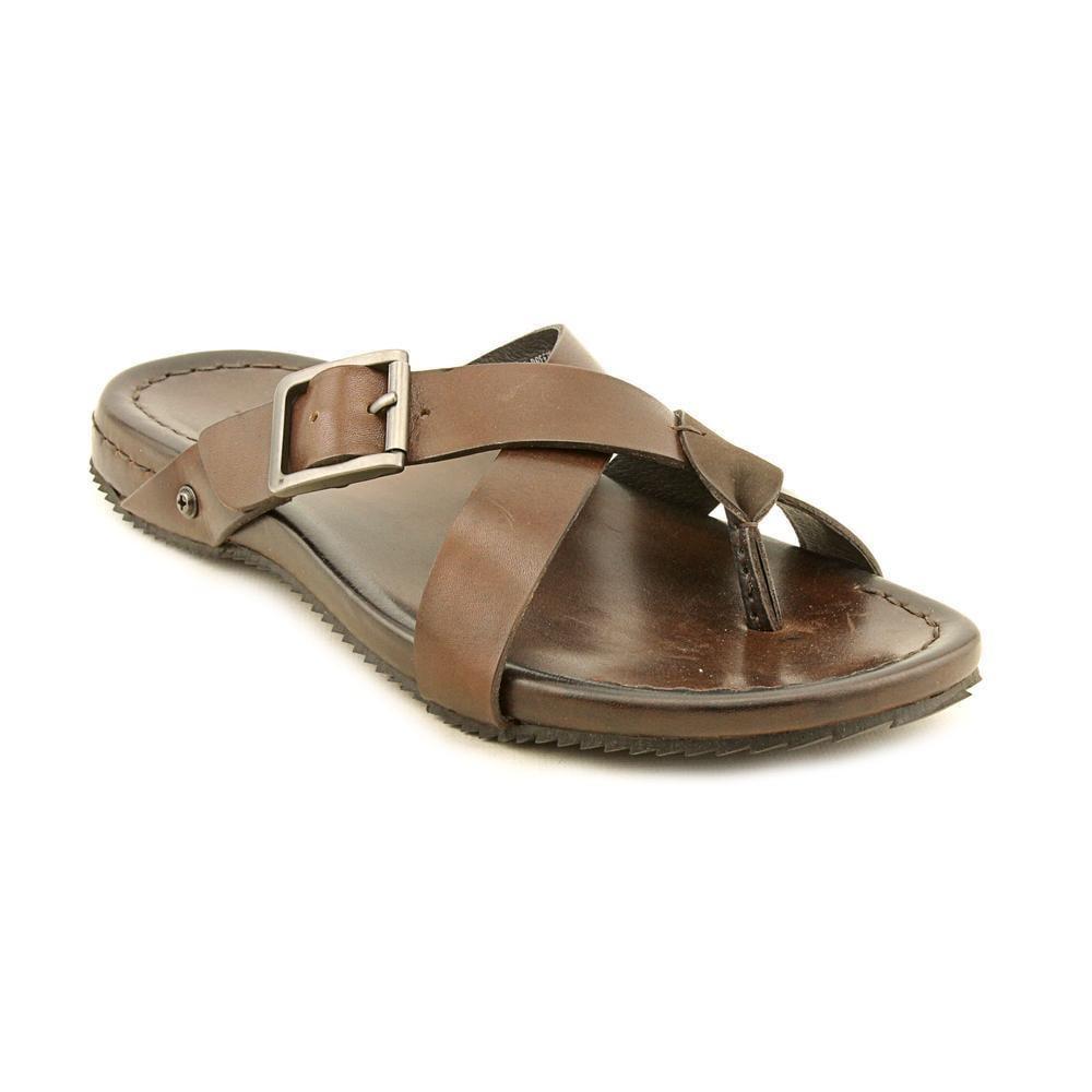 63d29a14657 Shop Kenneth Cole NY Men s  Sail Breeze  Leather Sandals - Free ...