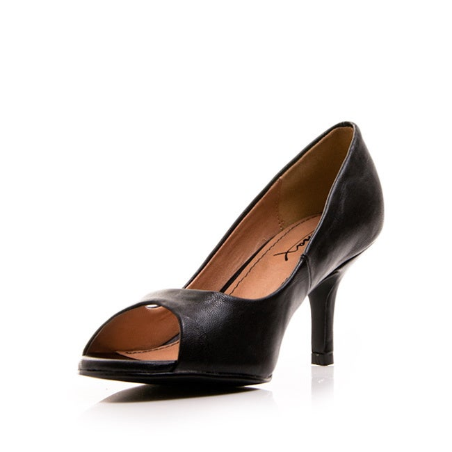 9fa6c67eb47e Shop Gomax Women s  Dinner At8 01  Patent Peep-toe Pumps - Free Shipping On  Orders Over  45 - Overstock.com - 8857807