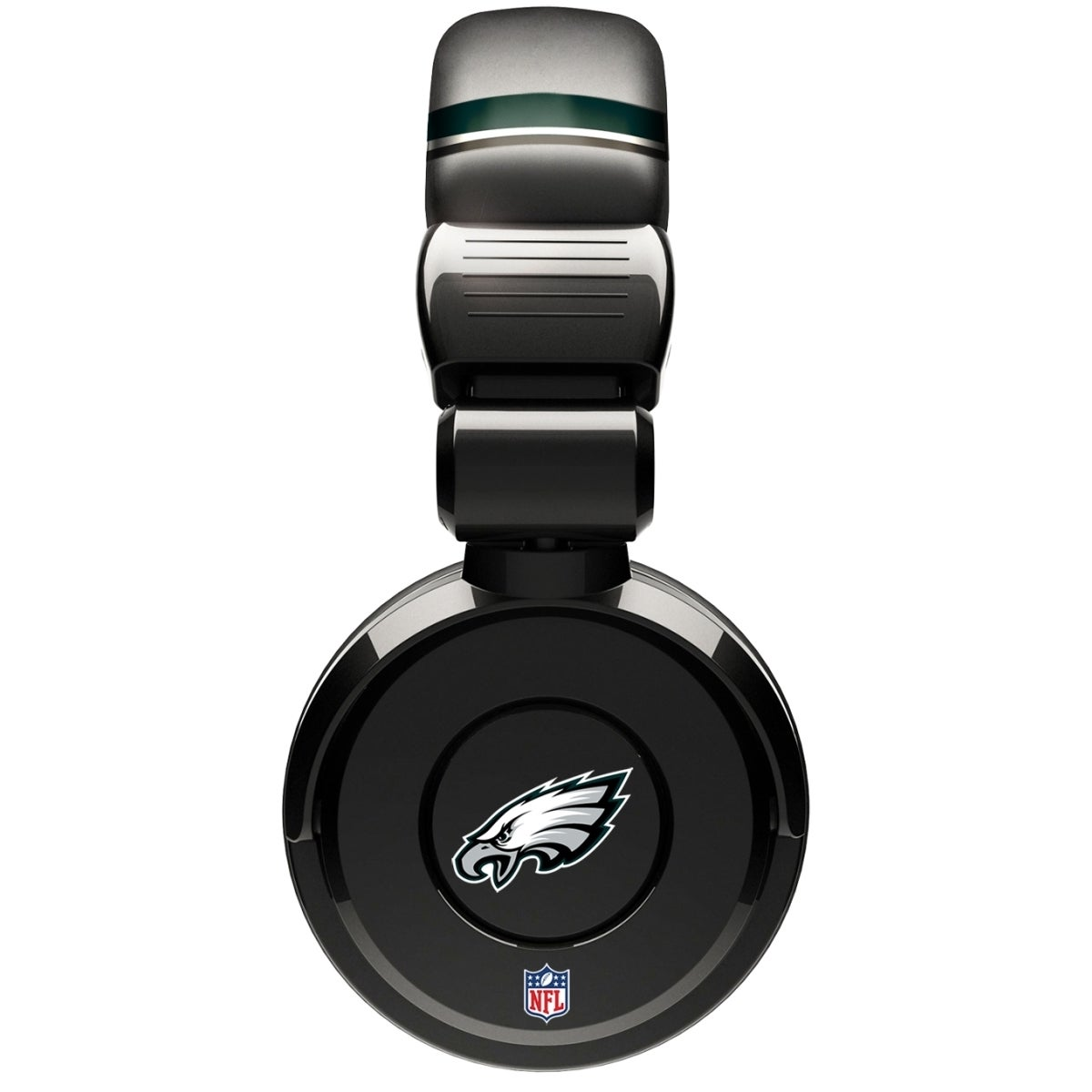Shop iHip Official NFL Philadelphia Eagles Noise Isolation Pro DJ  Microphone Headphone - Free Shipping On Orders Over  45 - Overstock -  8858158 fd5282739