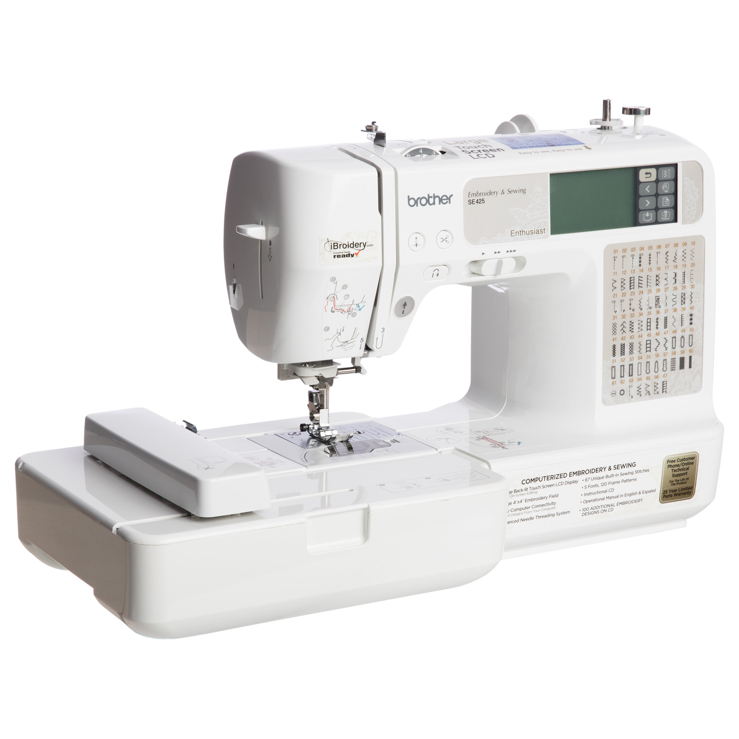 Shop Brother Se425 Computerized Sewing And Embroidery Machine