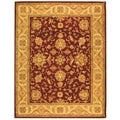 Safavieh Handmade Antiquity Red/ Gold Wool Rug (11' x 17')