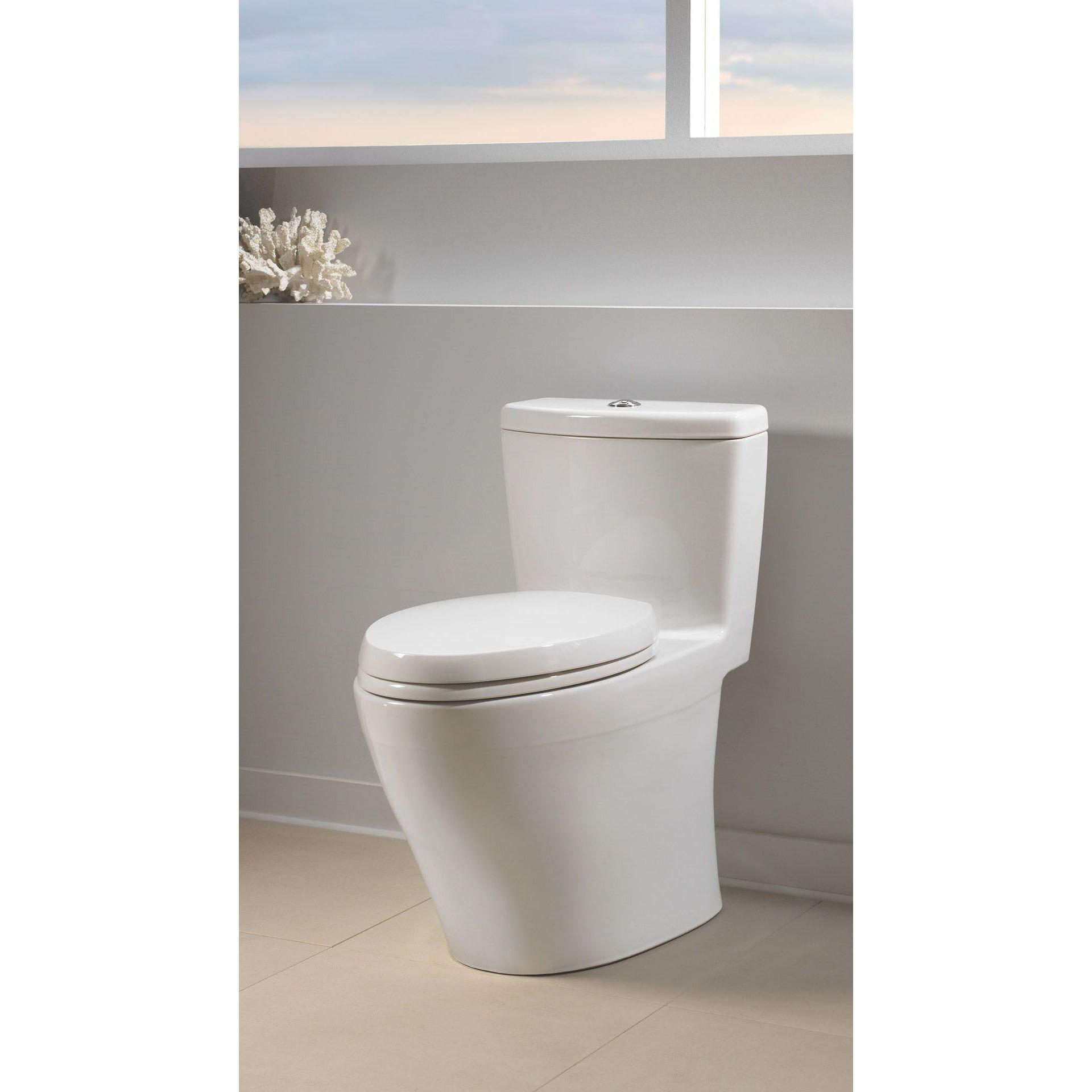 TOTO 'MS654114MF-01' Cotton White Elongated Toilet - Free Shipping ...