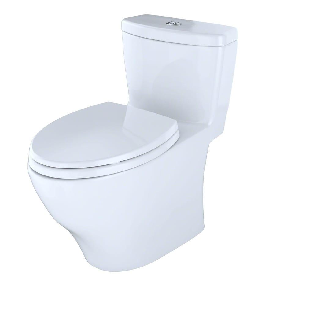 Toto Aquia One-Piece Elongated Dual-Max, Dual Flush 0.9 & 1.6 GPF ...