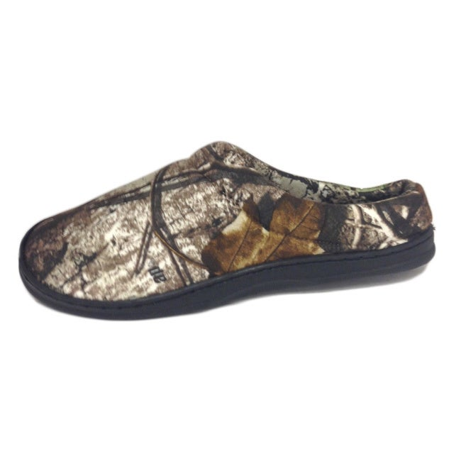 a28599d453632 Shop Winchester Men's 'Realtree' Print Open Back Slippers - Free Shipping  On Orders Over $45 - Overstock - 8866351