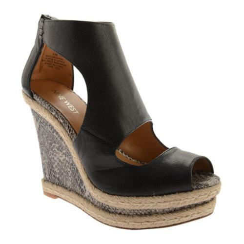 c581d19aa94 Shop Women s Nine West Congenial Black Leather - Free Shipping Today -  Overstock - 8867049