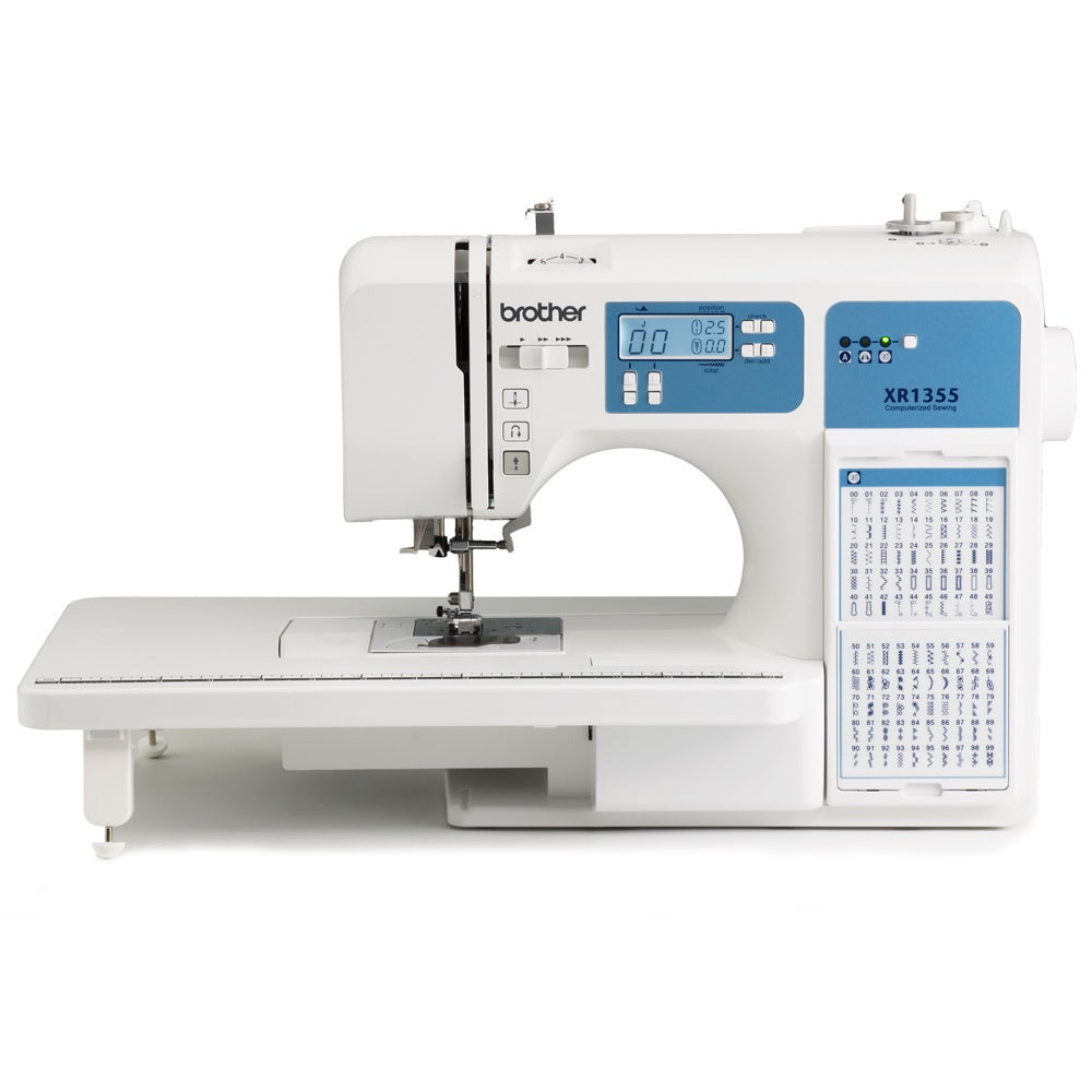 Brother Xr1355 185 Stitch Computerized Sewing Machine Factory Refurbished