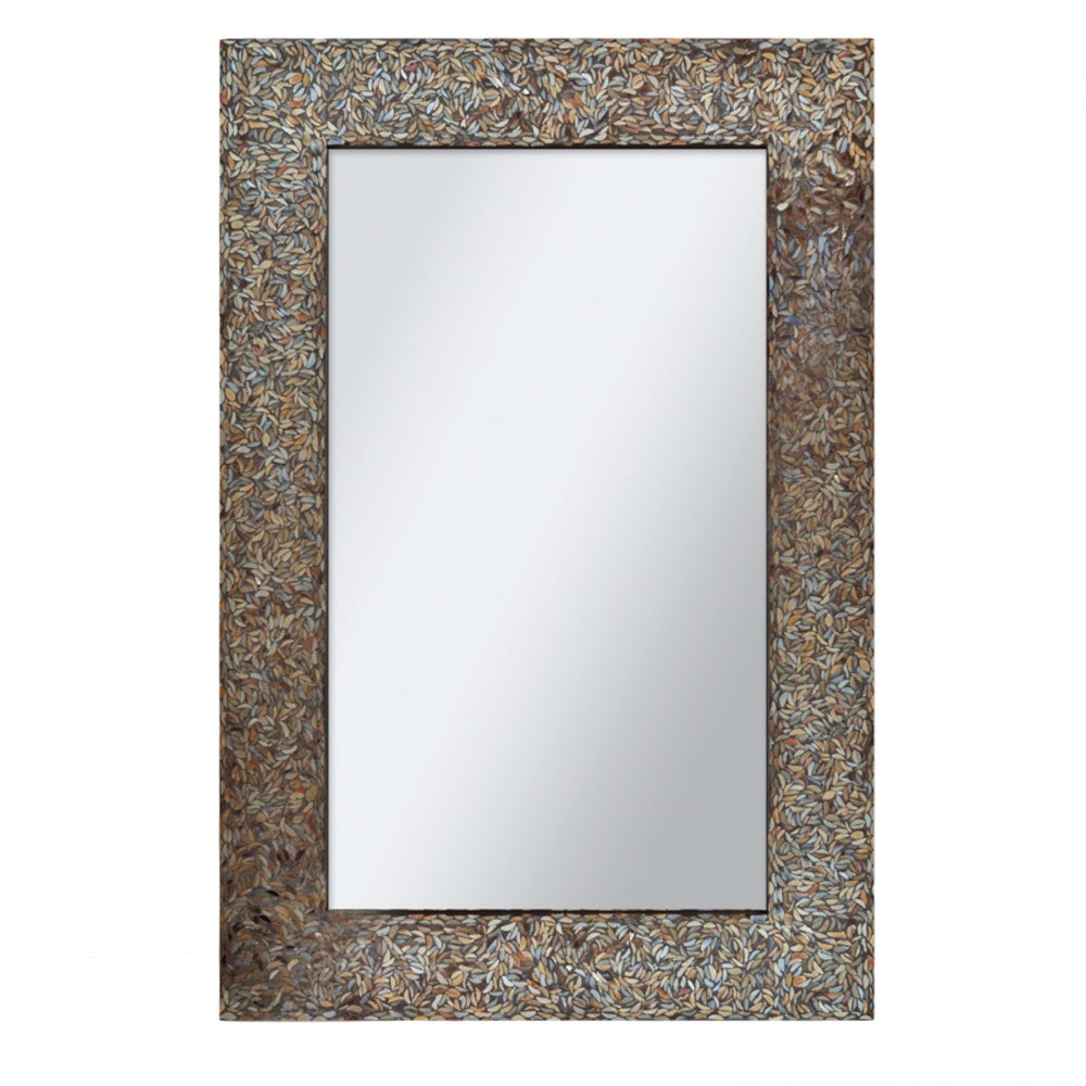 Ren Wil Renwil Amber Mosaic Mirror - Free Shipping Today - Overstock.com -  16095492